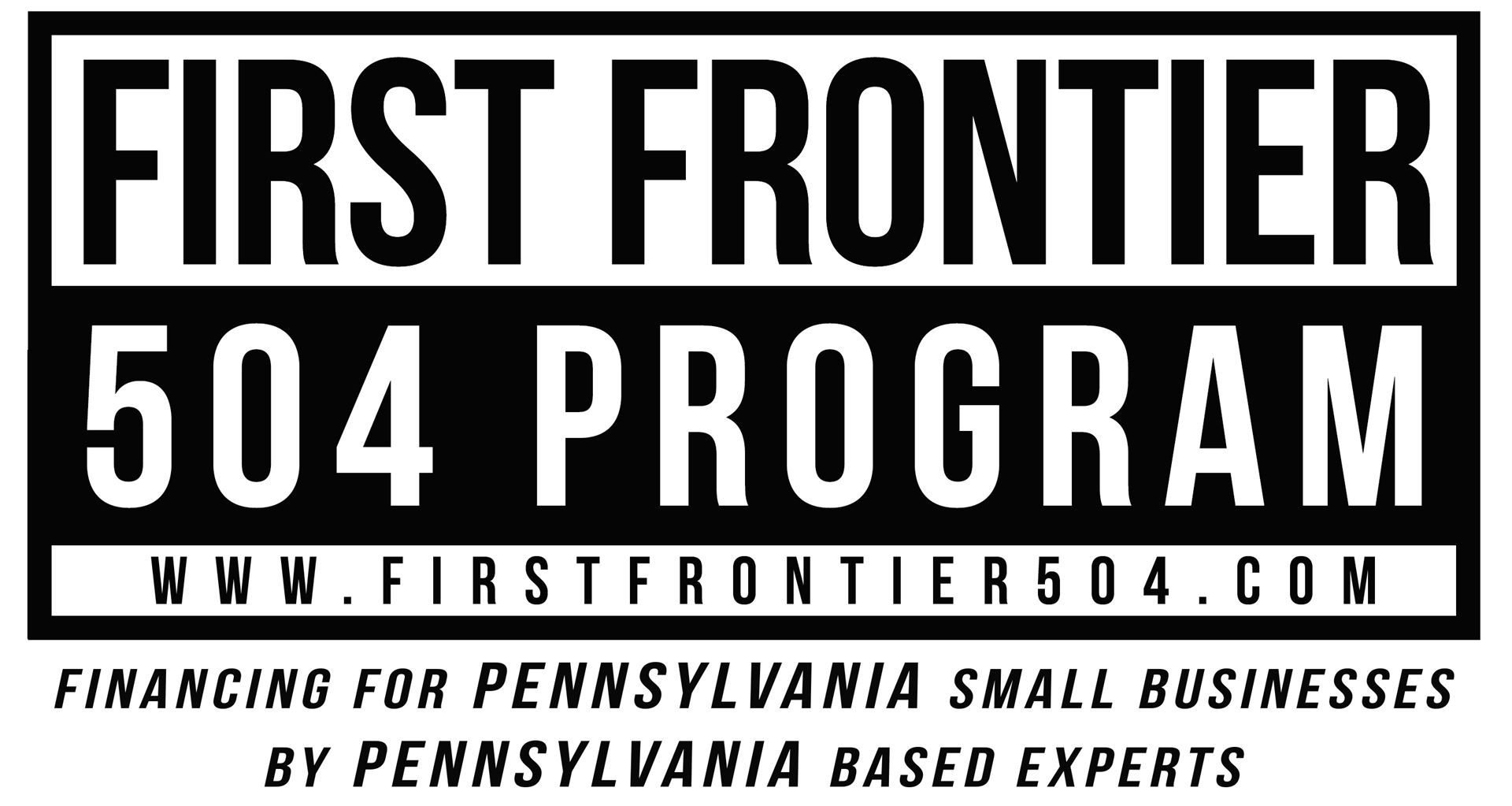 Logo for First Frontier 504 Program